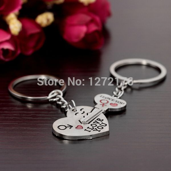 23 best diy crafts and gifts images on pinterest board concept new couple i love you heart keychain ring keyring lover romantic gifts for lovers best valentines solutioingenieria Gallery