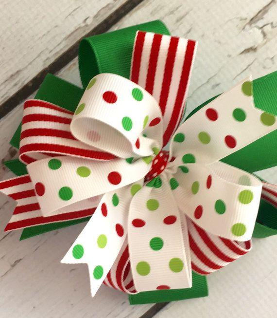 Arco del pelo de Navidad Sassy Navidad arco de por ThePalmettoBaby