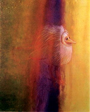 Bird Experiencing Light - Graves Morris