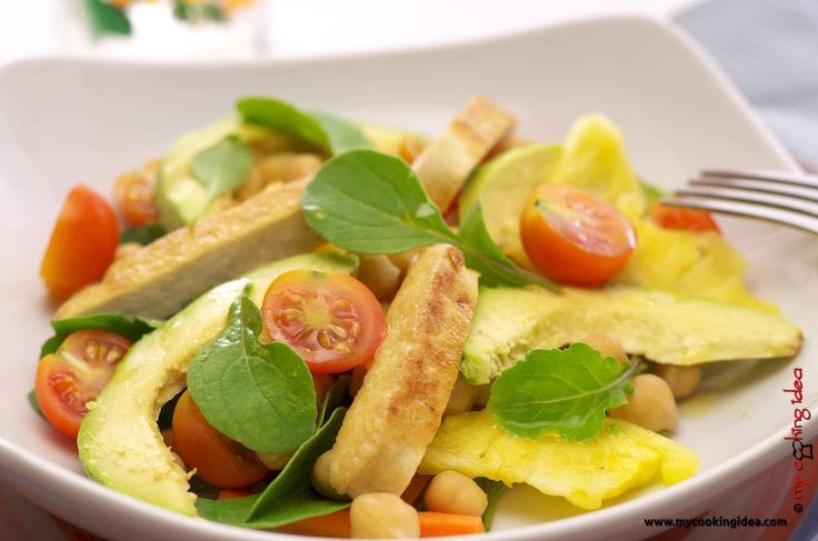 Insalata esotica, ricetta vegana - My cooking idea