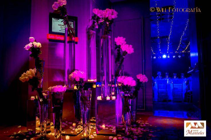 Organización de Bodas en Cali, Decoración de Bodas en Cali, Bodas de Salón en Cali, Entremanteles www.entremanteles.com