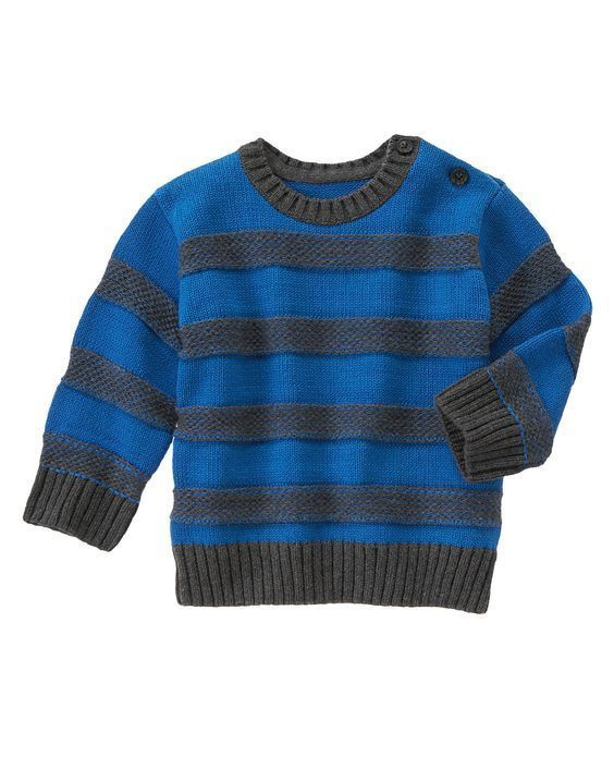 NWT Gymboree Boy KING OF COOL Striped Crew Long Sleeve Pullover Sweater 18-24 5T #Gymboree #Pullover #CasualEverydayHoliday