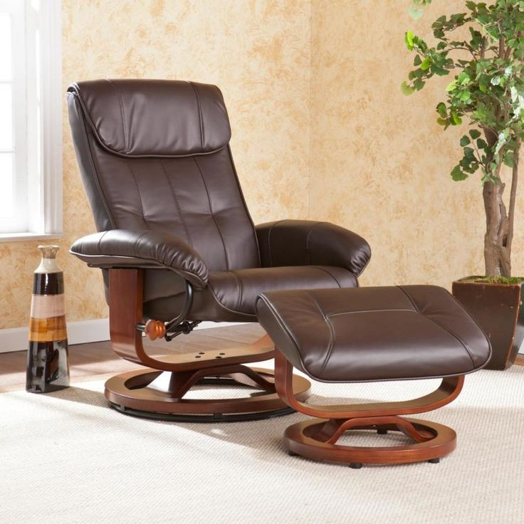 Furniture Awesome Donavan Recliner Chair And Ottoman With