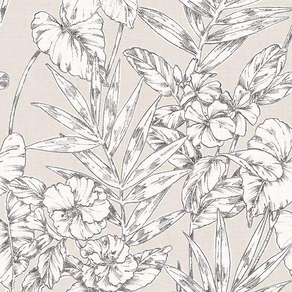 Grey Cayman Peel And Stick Wallpaper Floral Wallpaper Peel And Stick Wallpaper Turquoise Floral Wallpaper