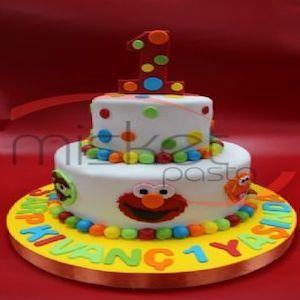 Susam Sokağı Pasta, Susam Sokağı doğum günü pastası, butik pasta, çocuk pastaları #SusamSokağı #Butikpasta