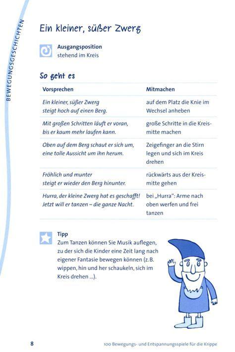 Zwerg Fingerspiel/ Bewegungsgeschichte