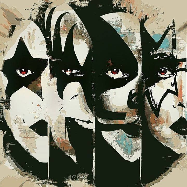 Kiss Band Faces: 334 Best Images About Kiss On Pinterest