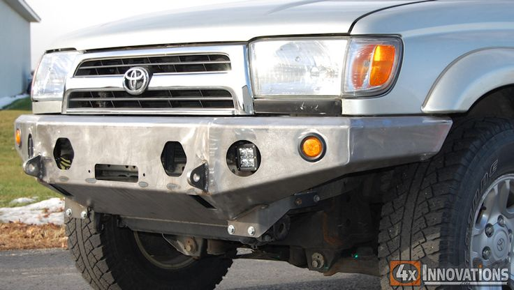 1996 - 2002 Toyota 4Runner Front Winch Mount Plate Bumper $731 (no cutting or welding required)