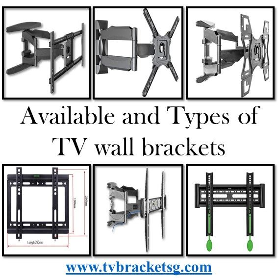 Available And Types Of Tv Wall Brackets Tv Wall Brackets Tv Wall Wall Brackets