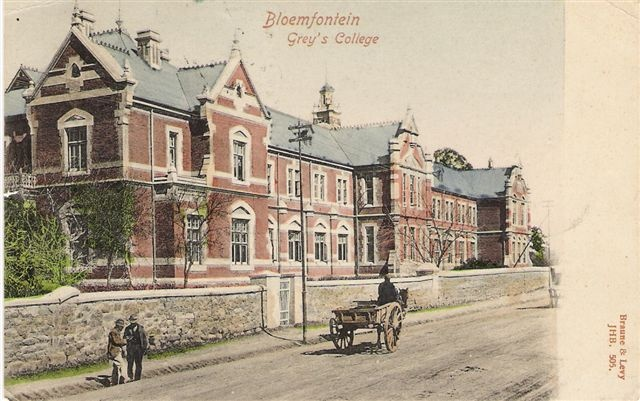 Grey College Bloemfontein early 1900