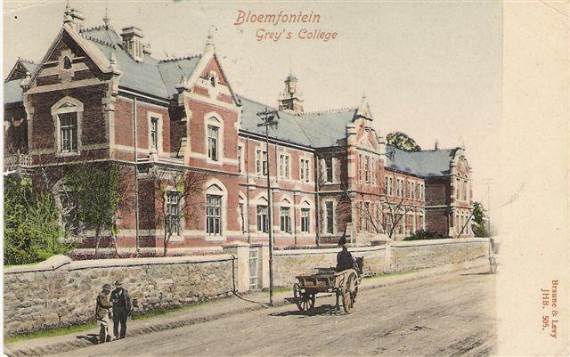 Grey College Bloemfontein early 1900