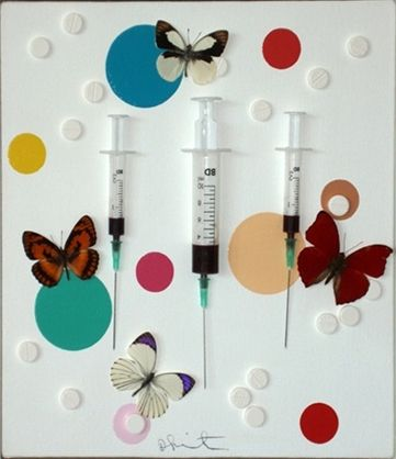 Happy by Damien Hirst