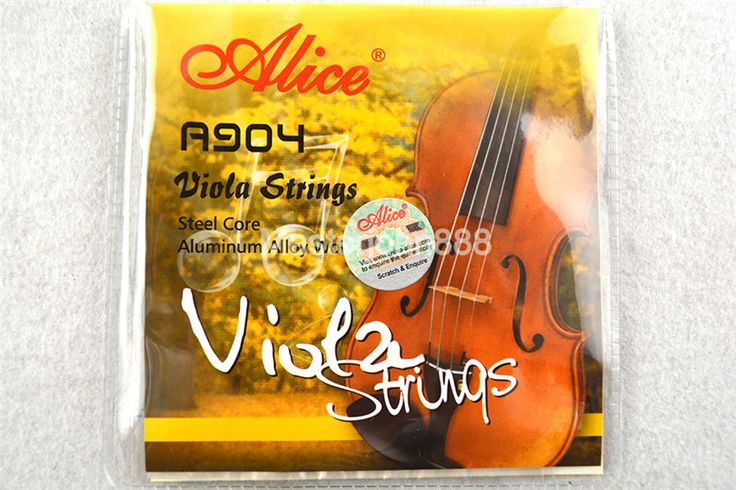 Alice A904 Viola Strings Steel Core&Alluminum Alloy Wound 1st-4th Strings Free Shippng #Affiliate