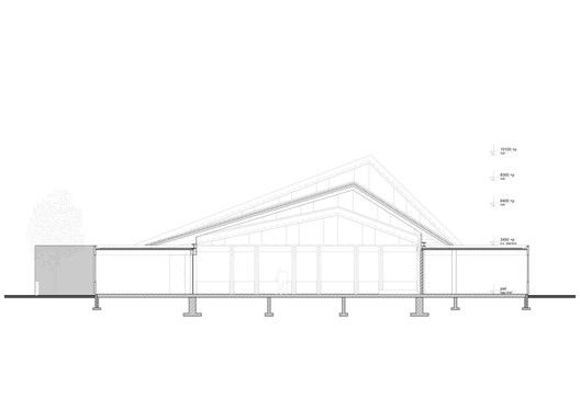 De Bron Church Renovation,Section