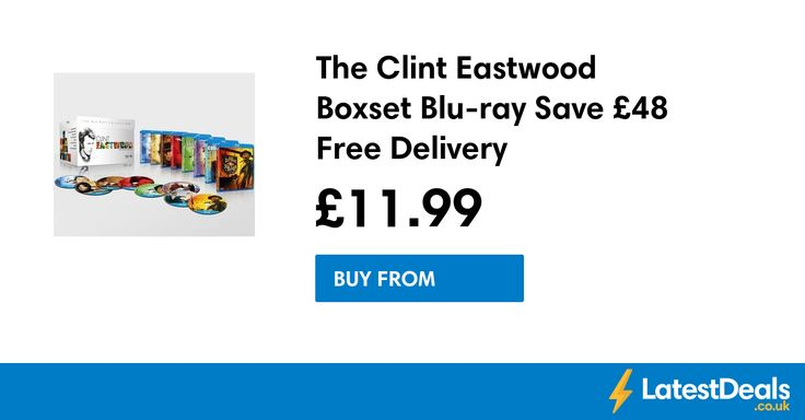 The Clint Eastwood Boxset Blu-ray Save £48 Free Delivery, £11.99 at Zavvi