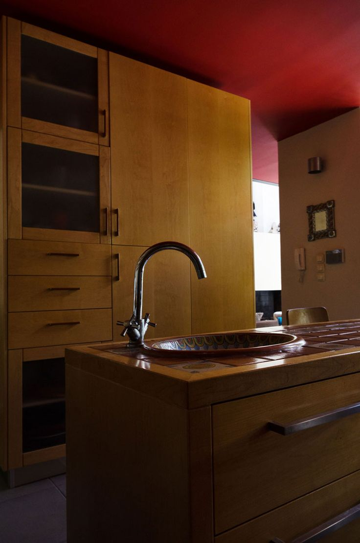 ... With An Inox Countertop And A Countertop Covered With Tiles,  Respectively. Material: Inside Cabinet Boxes   Melamine Kitchen Doors    Solid ...