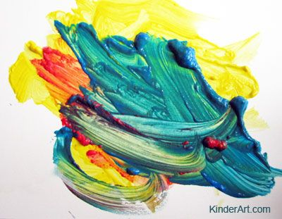 Mouse Painting (Color Mixing) Lesson Plan: Painting for Kids - KinderArt