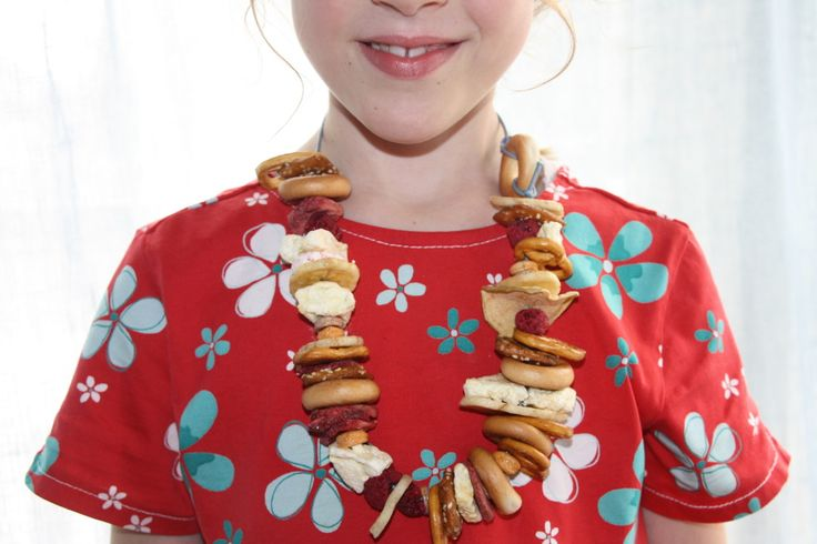Snack necklace.