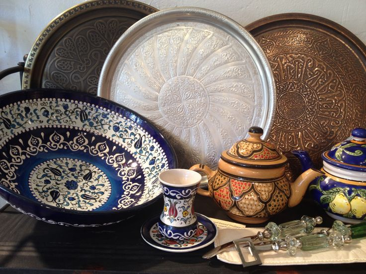 Mastering the art of Mediterranean hospitality with entertaining treasures from around the Mediterranean. Artisan crafts from Turkey Lebanon Tunisia ... & 34 best Tunisian Hand-painted Ceramic Dinnerware images on Pinterest ...
