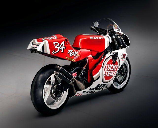 Kevin Schwantz's 1995 Suzuki RGV500