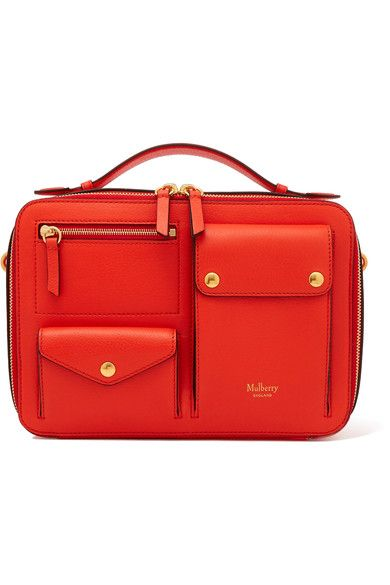 Mulberry | Cherwell Square leather shoulder bag | NET-A-PORTER.COM