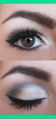 smokey eye shadow for brown eyes