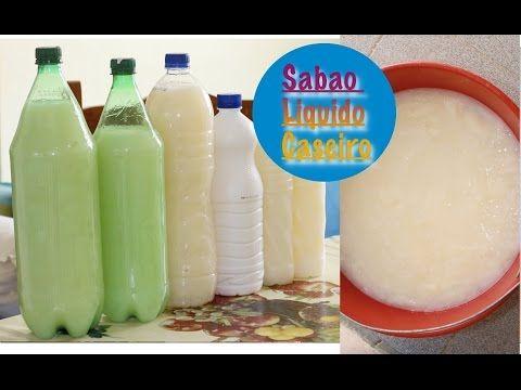 RECEITA INGREDIENTES  6 Colheres de sopa de bicarbonato de sódio 1 barra de sabão Teiu 500 gramas 5 litros de agua se precisar adicione mais
