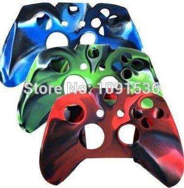 Дешевое 3 упак. комбо защитный силиконовый чехол для Microsoft Xbox один контроллер   камуфляж красный / синий / зеленый цвет, Купить Качество Прочие аксессуары непосредственно из китайских фирмах-поставщиках:                                                         Combo Защитный силиконовый чехол для Microsoft Xbox один к