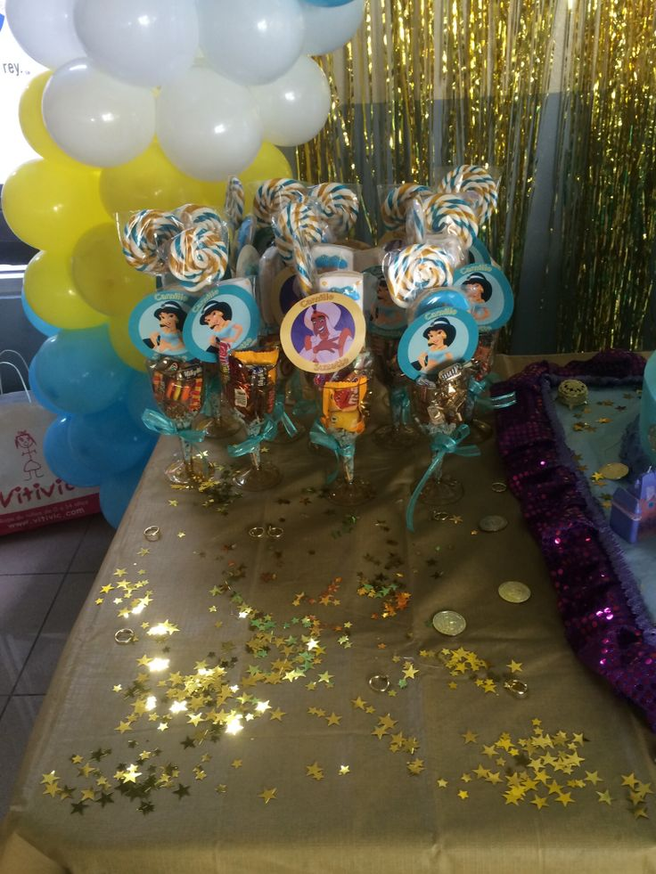 9 best princess jasmine birthday larty images on pinterest for Aladdin decoration ideas