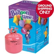 Large Helium Tank, enough to fill 50 9in latex balloons $49.99 partycity.com