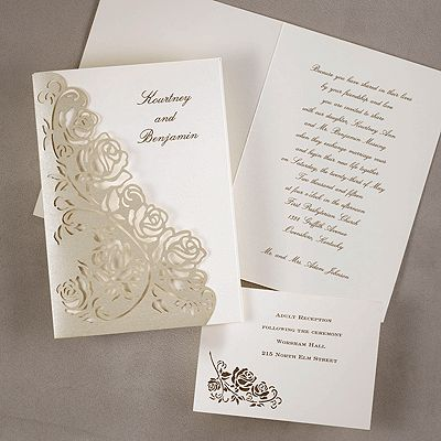79 best images about laser cut invitations on pinterest, Wedding invitations