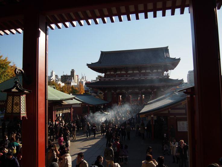 浅草,浅草寺 Sensoji,Asakusa,Tokyo (2013.11)