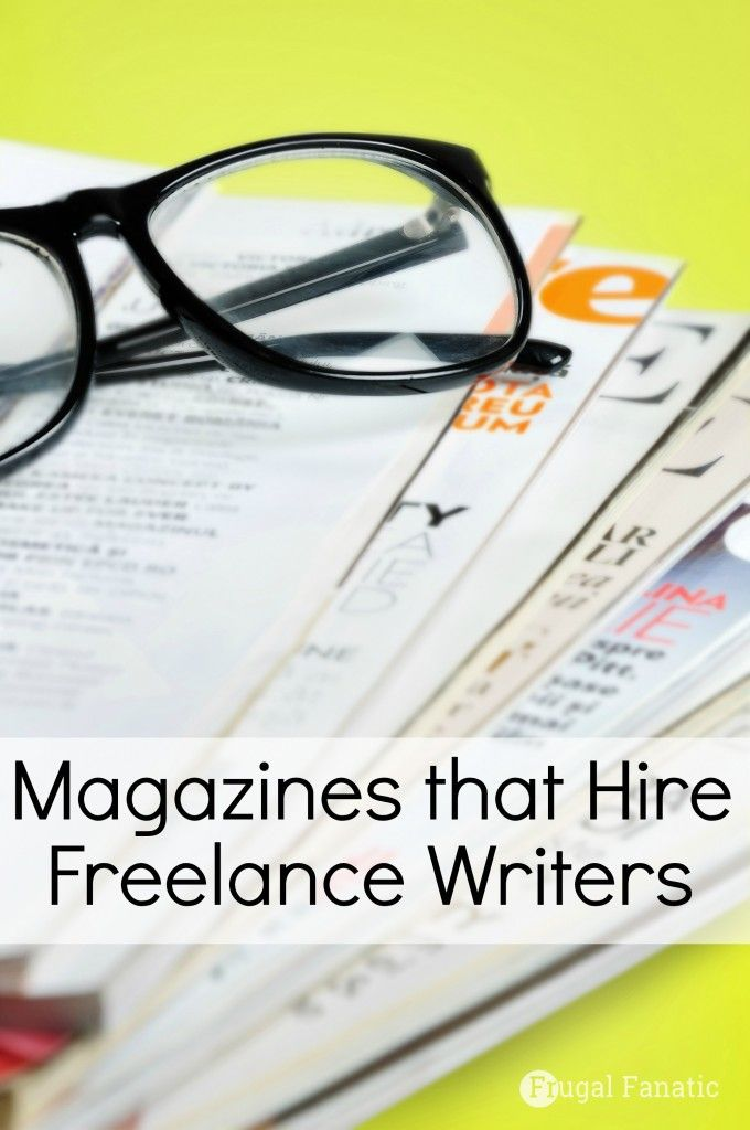 Did you know that magazines hire freelance writers? Take a look at these magazines and find out how much they pay per article.
