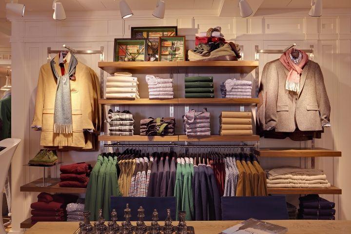 GANT Flagship Store by PRIMA Munich Germany