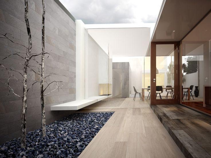 M s de 1000 ideas sobre pisos de madera de cer mica en - Azulejos para patio ...