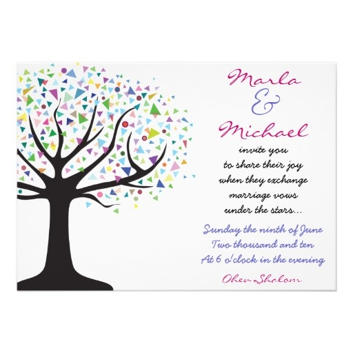 Tree Of Life Invitation Rsvp Celtic Life By: Tree Of Life Wedding Invitation Invite Engagement