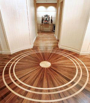 Wood Flooring:Durable, renewable and so many designs.