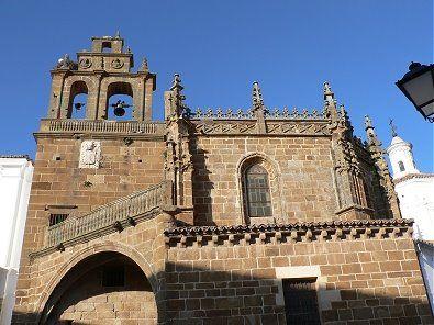 Otra imagen de La Iglesia Mayor de Nuestra Señora de la Granada.
