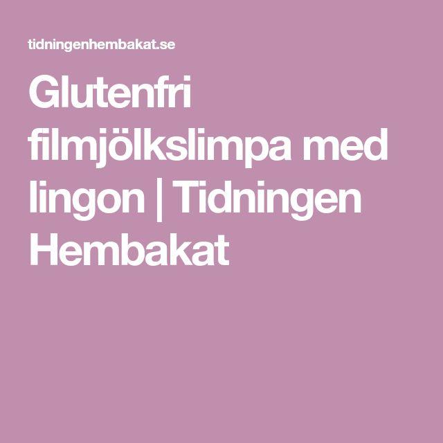 Glutenfri filmjölkslimpa med lingon | Tidningen Hembakat