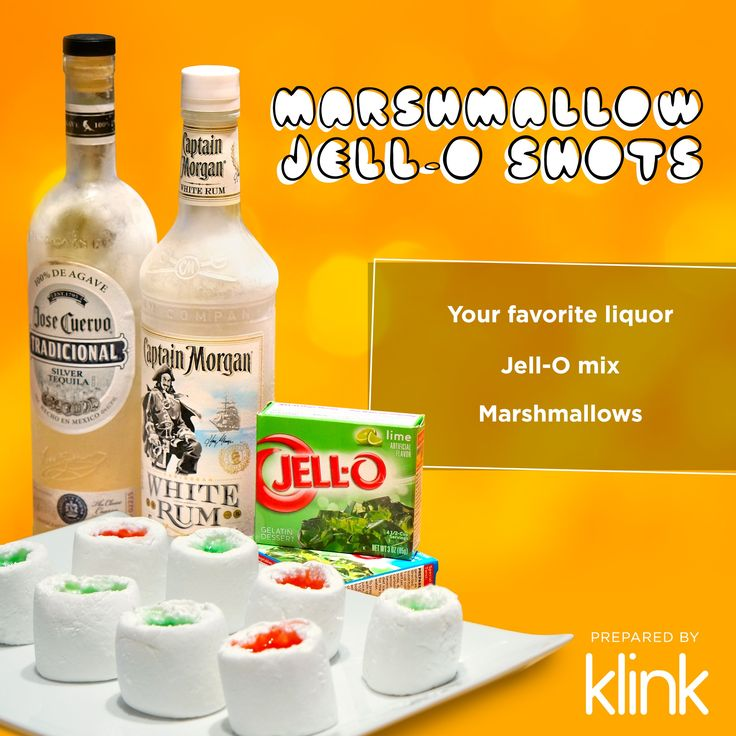 How to make Marshmallow Jello Shots - click through for step by step with pictures