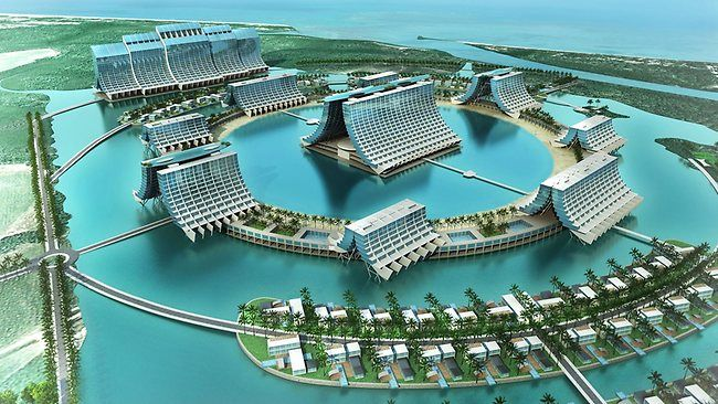 Yorkeys Knob Aquis developers make $276m bid to buy Reef Hotel Casino in Cairns and Canberra casino