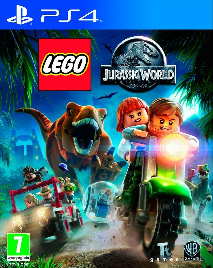 125427   Lego Jurassic World PS4