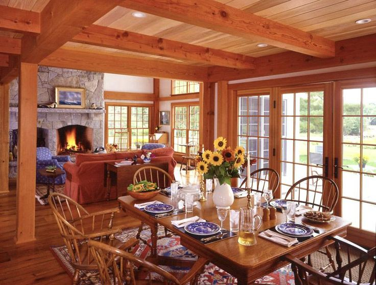 Image detail for -The Acadia Floor Plan | 3 bedroom Post and Beam Home | Coastal Cottage