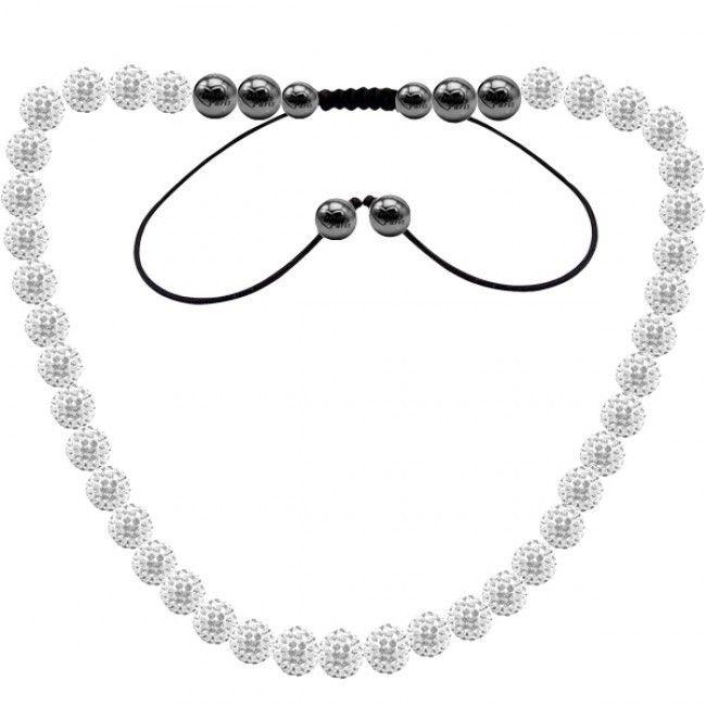 Yashow Ювелирные Изделия, мода Шамбалы Ожерелья, новые Шамбалы Ожерелья Micro Pave Cz Дискотечный Шар Бусины, Шамбала Ожерелья SHN025