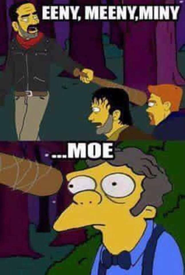TWD meets the Simpsons | Much preferred over the actual deaths