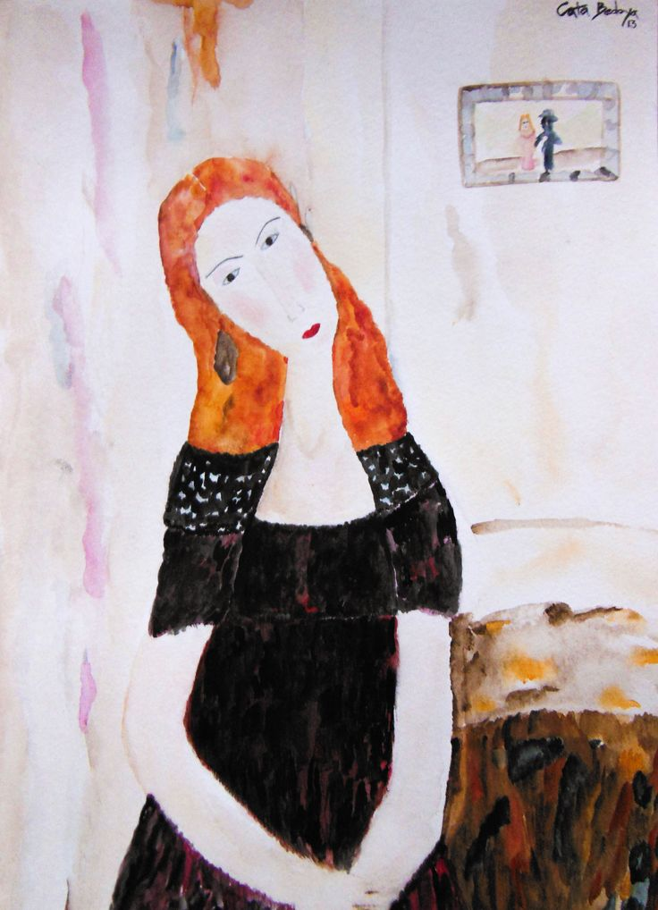 Watercolor Paint Melba 24 x 32 cm Solgt!