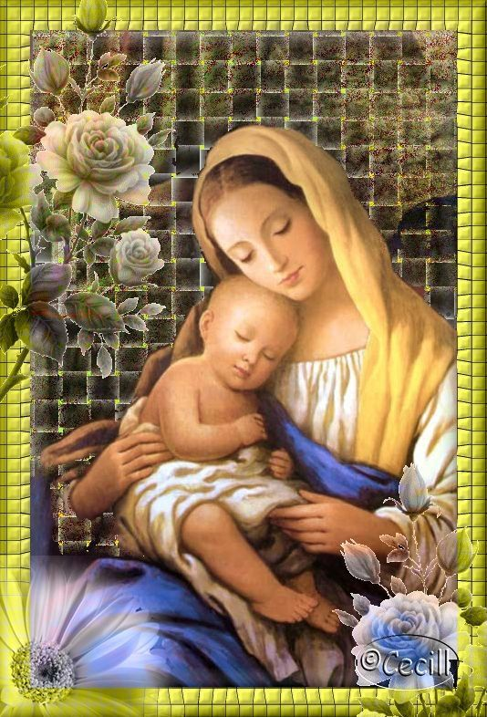Madre ~ Holy Mary, Mother of God....<3