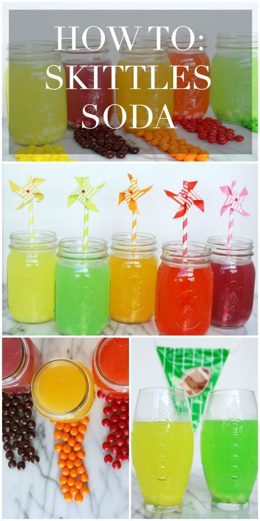 Skittles Soda Recipe #CallAnEatible #SkittlesHomegating #ad