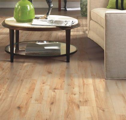 Laminate Floors: Mohawk Laminate Flooring - Havermill - Honey Blonde Maple