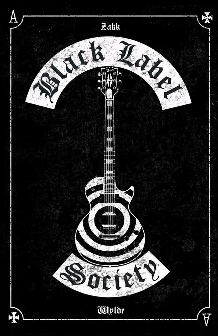 Black Label Society poster les paul by MitchBaker13